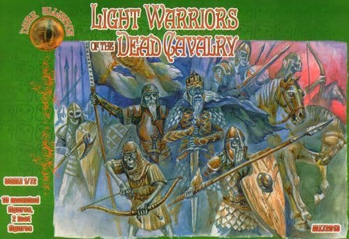 Dark Alliance 1/72 Light Warriors of the Dead Cavalry # PAL72013