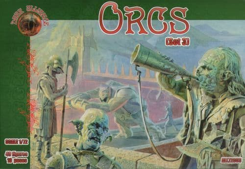 Dark Alliance 1/72 Orcs set 3. # 72003