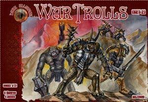 Dark Alliance 1/72 War Trolls (Set 2) # ALL72031