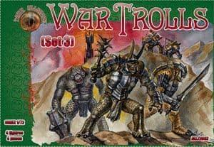 Dark Alliance 1/72 War Trolls Set 3 # ALL72032