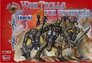 Dark Alliance 1/72 War Trolls for Catapult (Set 4) # ALL72033