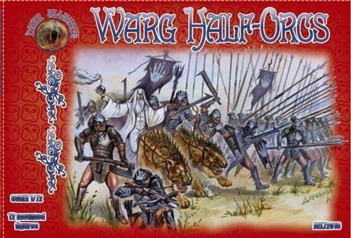 Dark Alliance 1/72 Warg Half-Orcs # PAL72018