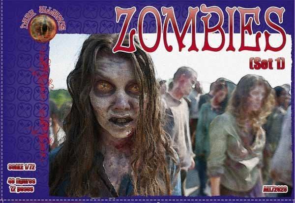 Dark Alliance 1/72 Zombies set 1 # PAL72023