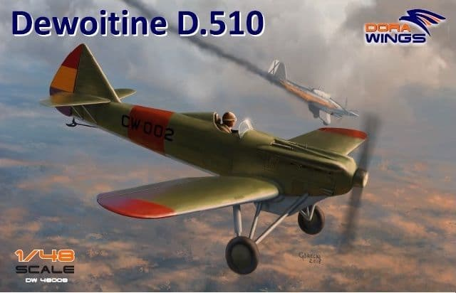 Dora Wings 1/48 Dewoitine D.510 # 48008