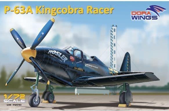 Dora Wings 1/72 Bell P-63A Kingcobra Racer # 72010