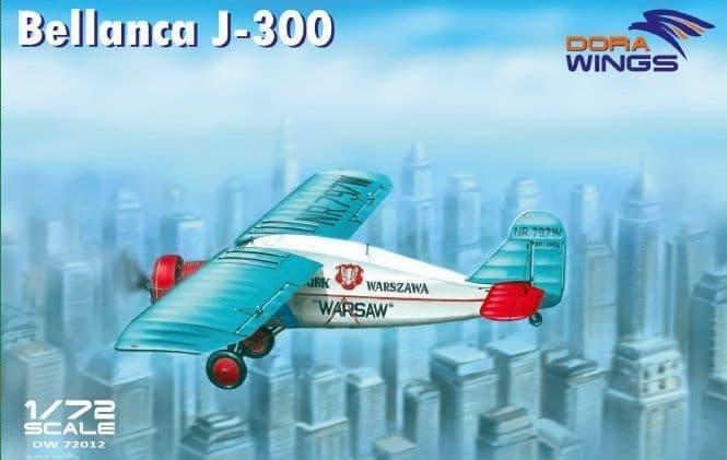 Dora Wings 1/72 Bellanca J-300 'Warsaw' # 72012