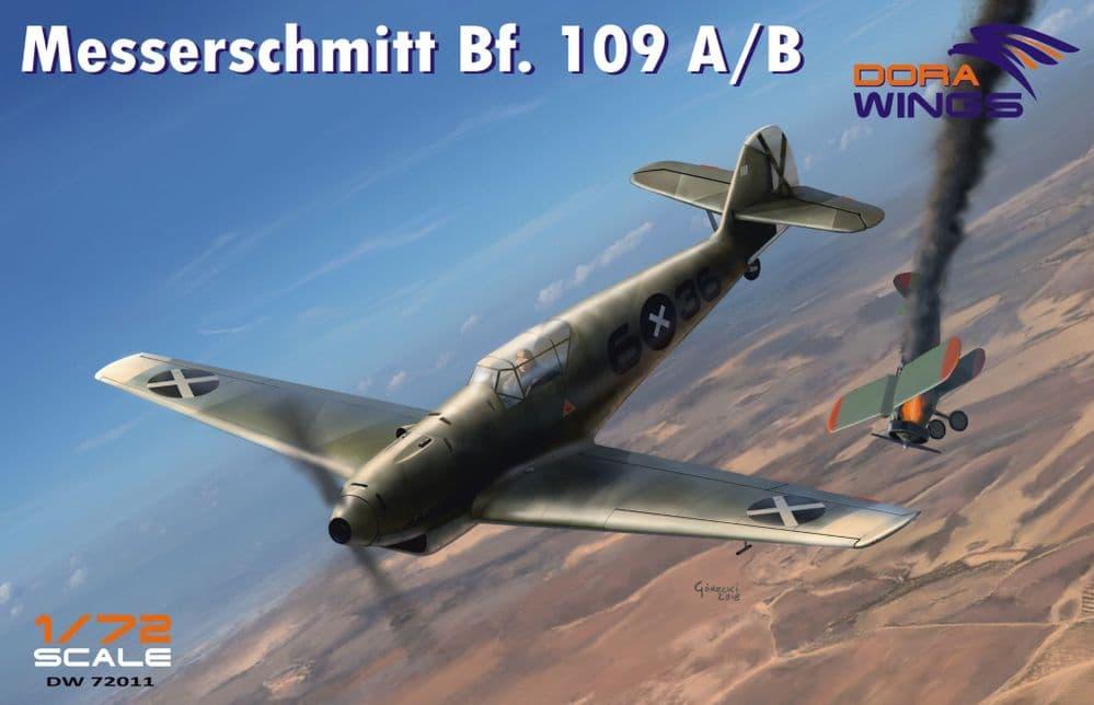 Dora Wings 1/72 Messershmitt Bf-109A/B Legion Condor # 72011