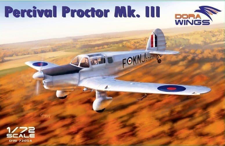 Dora Wings 1/72 Percival Proctor Mk.III # 72014