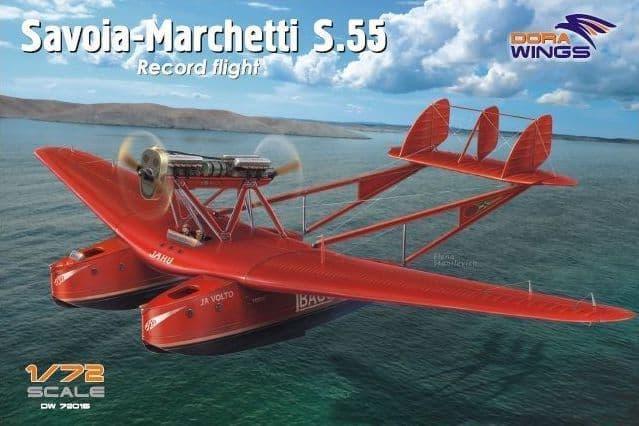 Dora Wings 1/72 Savoia-Marchetti S.55 Record Flight # 72015