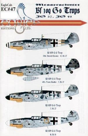 Eagle Cal 1/32 Messerschmitt Bf-109G-6 Tropical Version # 32047