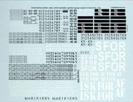 Echelon FD 1/35 Generic Dutch AFV Markings # T35005SUP