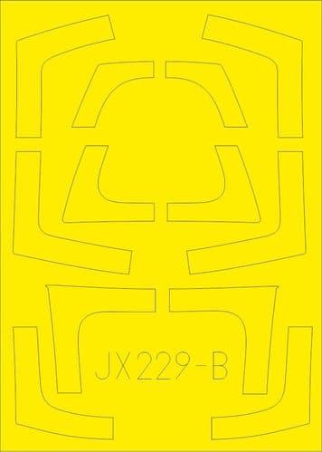 Eduard 1/32 Northrop F-5F Tiger TFace Paint Mask # JX229