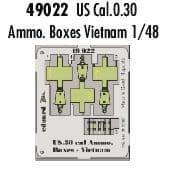 Eduard 1/48 US Cal.0.30 Ammunition Boxes Vietnam # 49022