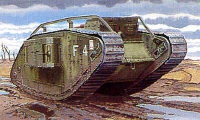 Emhar 1/35 Mark IV WWI Tank 'Female' # 4002