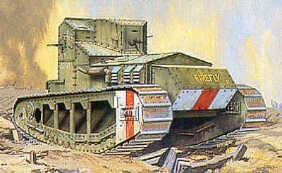 Emhar 1/35 Mk1A Whippet WWI Medium Tank # 4003