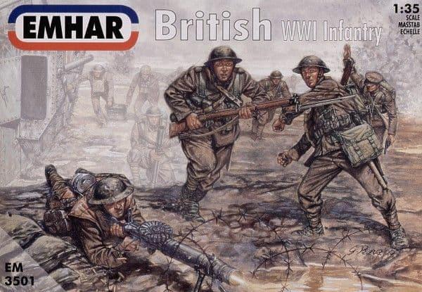 Emhar 1/35 WWI BritishßInfantry # 3501ß