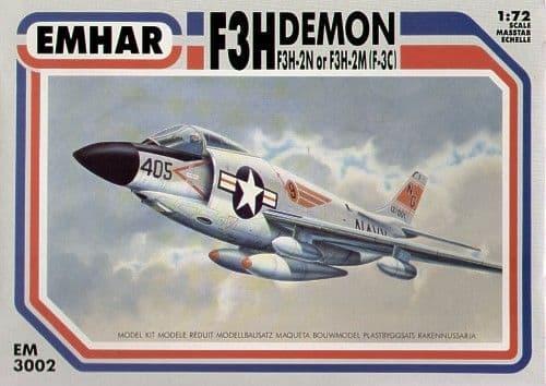 Emhar 1/72 McDonnell F3H-2M / F3H-2N (F-3C) Demon # 3002