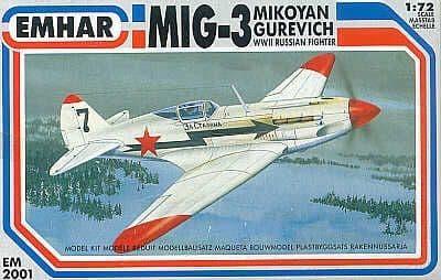 Emhar 1/72 MiG-3 # 2001