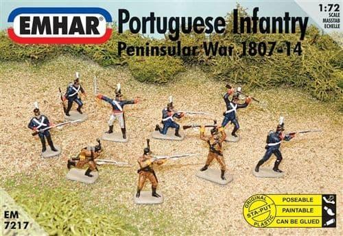 Emhar 1/72 Portuguese Infantry Peninsular War 1807-14 # 7217