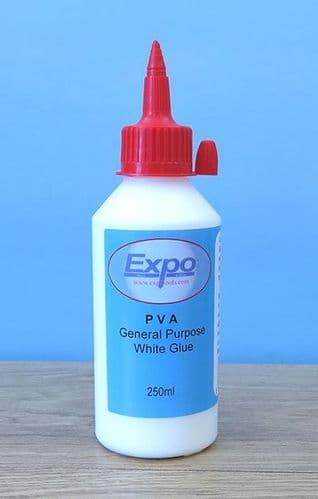 Expo 250ml PVA General Purpose White Glue # 47030