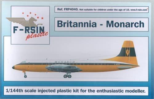 F-rsin Plastic 1/144 Bristol Britannia - Monarch # FRP4040