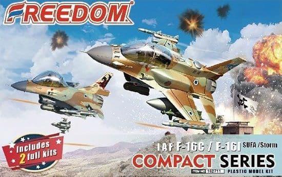 Freedom Models - IAF F-16C/F-16I SUFA/Storm (Compact Series) # 162711