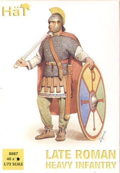 HaT 1/72 4th Century Roman Heavy Infantry # 8087