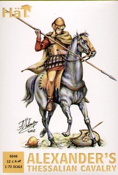 HaT 1/72 Alexander's Thessalian Cavalry # 8048