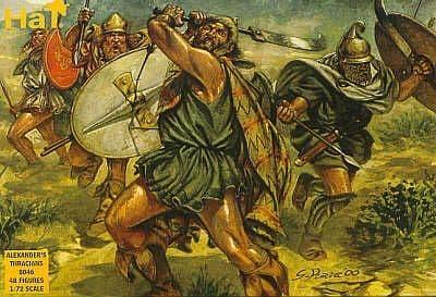 HaT 1/72 Alexander's Thracians # 8046