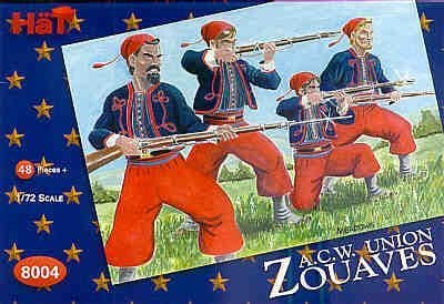 HaT 1/72 American Civil War Zouaves # 8004
