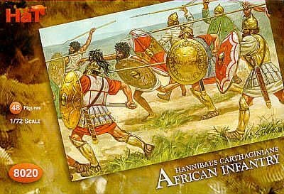 HaT 1/72 Carthaginian African Infantry # 8020