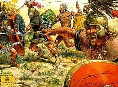 HaT 1/72 Carthaginian Allies # 8058