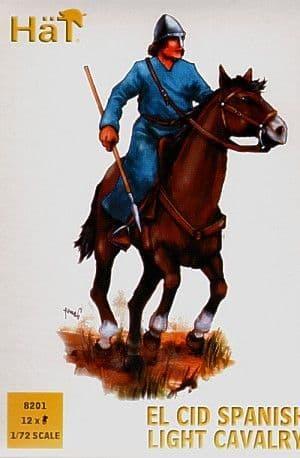 HaT 1/72 El Cid Spanish Light Cavalry # 8201