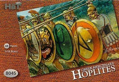 HaT 1/72 Greek Mercenary Hoplites # 8045