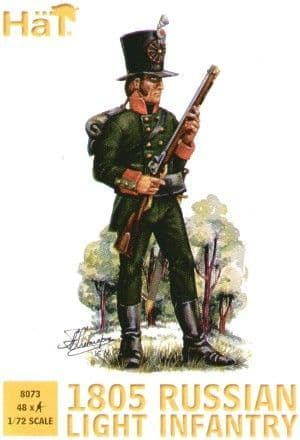 HaT 1/72 Napoleonic 1805 Russian Light Infantry # 8073