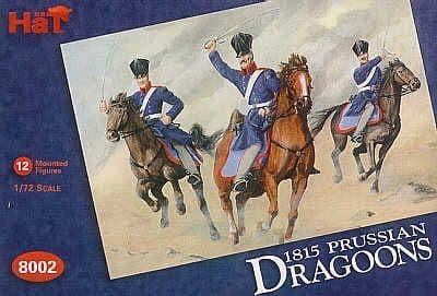 HaT 1/72 Napoleonic 1815 Prussian Dragoons # 8002