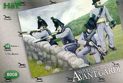 HaT 1/72 Napoleonic Brunswick Avant Garde # 8008