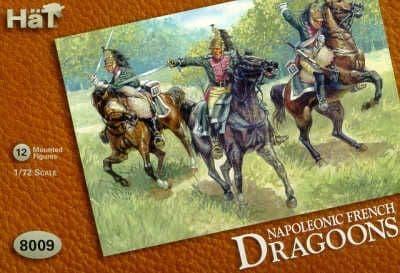 HaT 1/72 Napoleonic French Dragoons # 8009