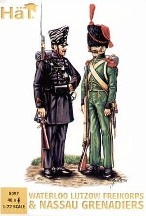 HaT 1/72 Napoleonic Lutzow Freikorps and Nassau Grenadiers # 809