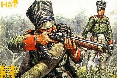 HaT 1/72 Napoleonic Prussian Jager # 8053