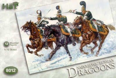 HaT 1/72 Napoleonic Russian Dragoons # 8012