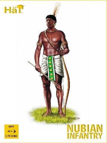 HaT 1/72 Nubian Infantry # 8079