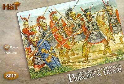HaT 1/72 Republican Romans Princeps and Triari # 8017
