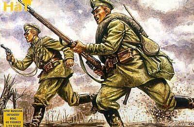 HaT 1/72 WWI Russian Infantry # 8061