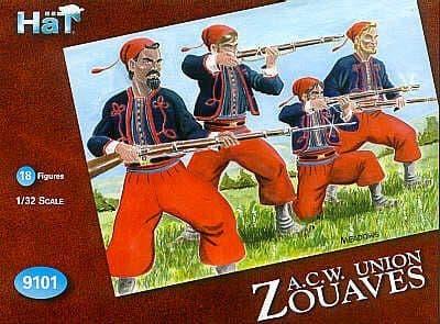 Hat 1/32 A.C.W. Union Zouaves # 9101