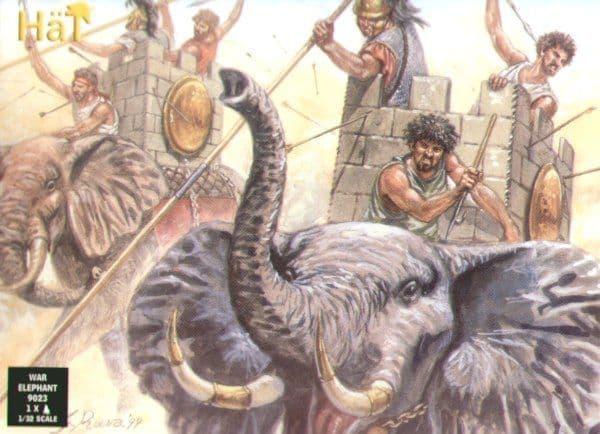 Hat 1/32 Carthaginian War Elephant # 9023