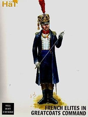 Hat 1/32 French Elites in Greatcoats Command # 9311
