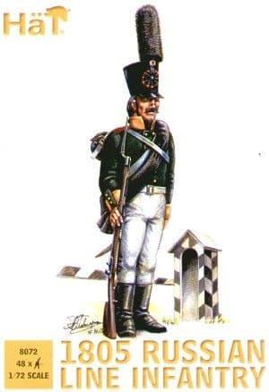 Hat 1/72 1805 Russian Infantry # 8072