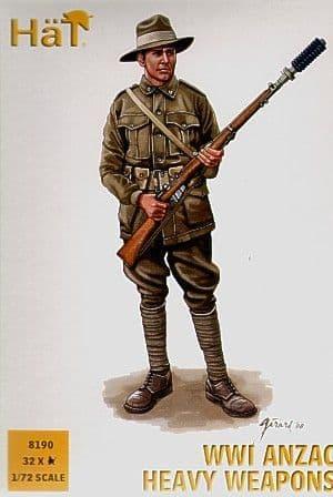 Hat 1/72 ANZAC Heavy Weapons # 8190