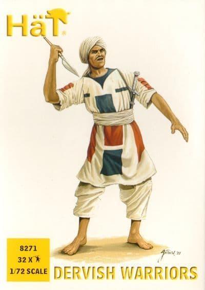 Hat 1/72 Dervish Warriors # 8271